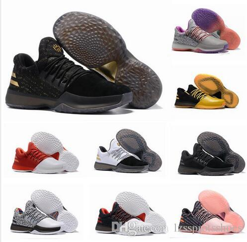 a01361f54fd 2019 2017 New James Harden Vol.1 Black History Month White Orange Gold Men S  Basketball Shoes Harden Vol.1 Low BHM Boys Grade School Sneakers From ...