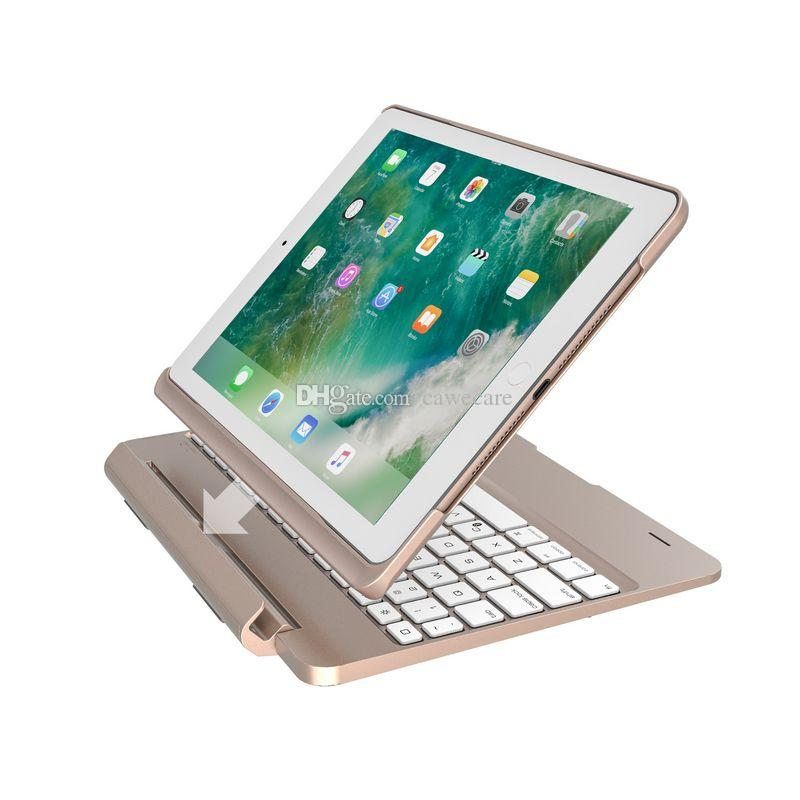 Tablet PC Smart Keyboard Cases for Pad 9.7 Pad Pro9.7 Air 1/2 with Battery 7-Color Backlit 270Mah C083