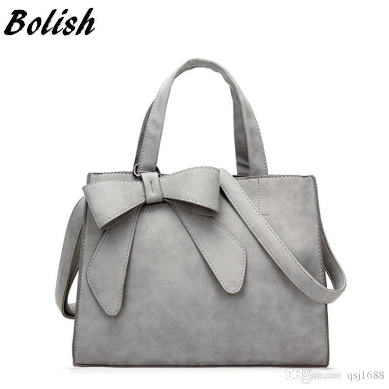 90ef2b4594 Bolish Drop Shipping Vintage Shoulder Bag Female Causal Handbag Lady Daily  Shopping Crossbody Bag Bolsa Feminina De Marca Famosa Handbags For Women  Leather ...