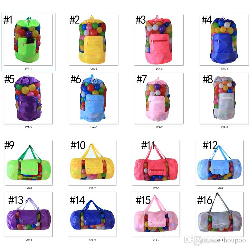 16 Designs Foldable Kids Toy Bag Sandy Beach Pouch Storage Bag Backpacks Travel Gadgets Closet Organizer Kitchen Accessories Home Decor