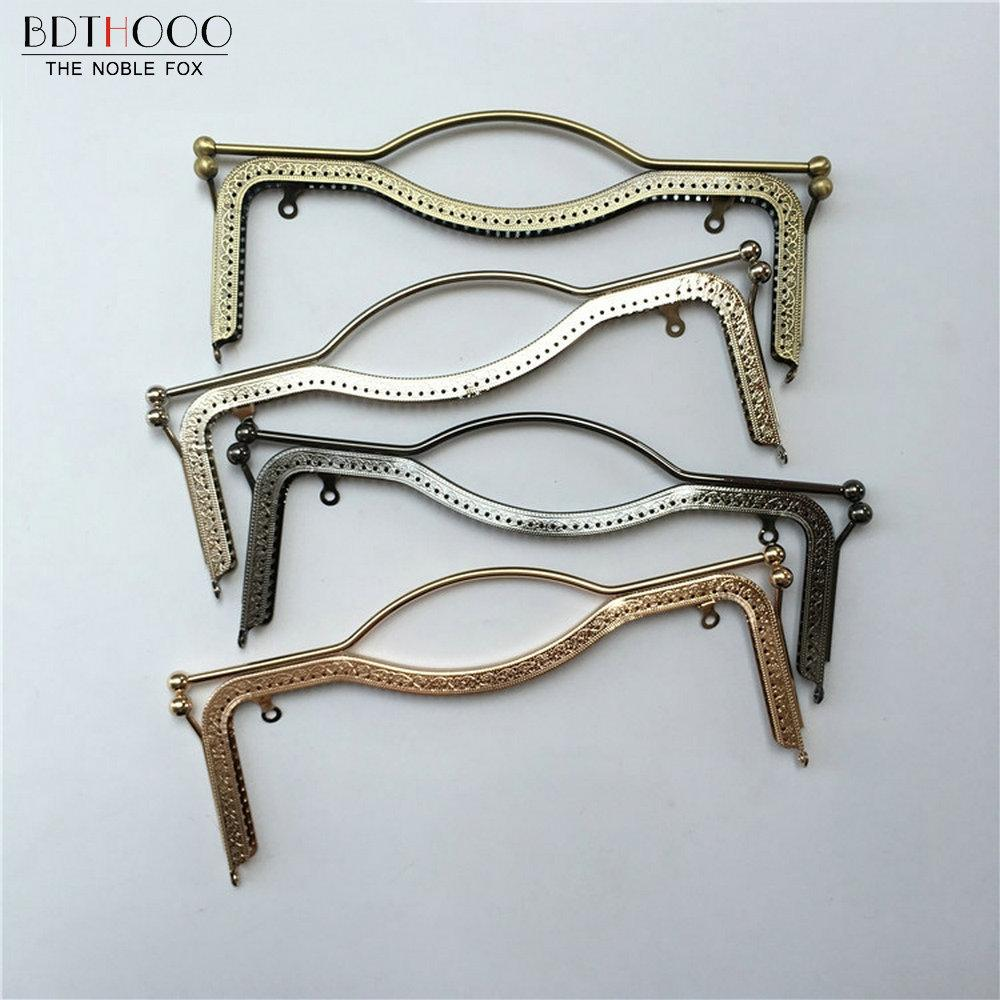 f0768eab5c 2019 Luggage Bags Bag Parts Accessories 27cm Metal Purse Frame Handle DIY  Kiss Lips Clasp Lock For Women Clutch Handmade Handbag Hardware Antique  From ...
