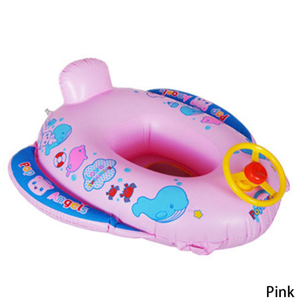 2018 New Hot Pvc Baby Float Swimming Ring Inflatable Car Steering Wheel Seat Kids Trainer Toy Pool Accessories From Huiqi02 2194