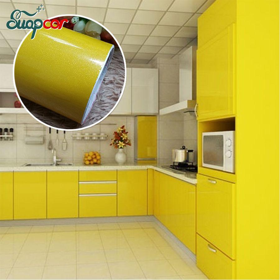 Großhandel Neue Farbe Selbstklebende Vinyl Wandaufkleber Küche