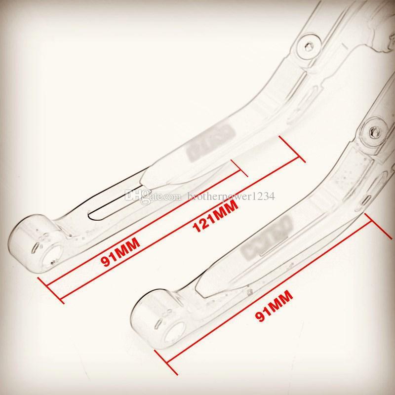 Оранжевый с ЧПУ складной расширение тормозные рычаги сцепления для KTM 1290 Super Duke R690Duke