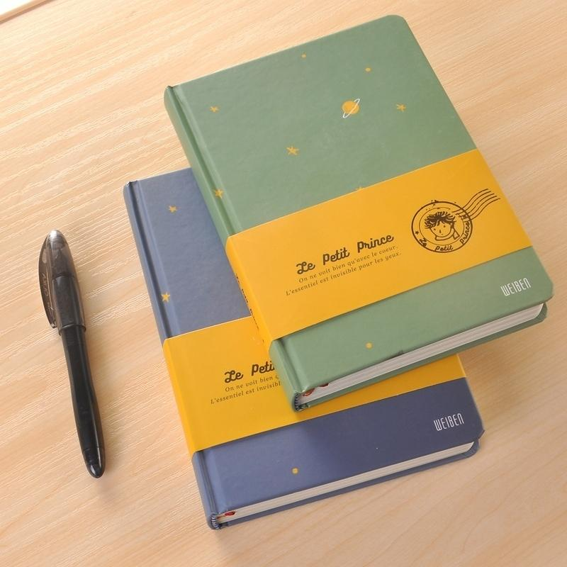 Vintage Color Page Notebook The Little Prince School Office Supply  Accessory Diary Book Notepad Retro Stationery WJ XXWJ277