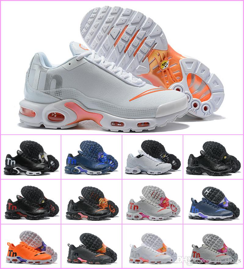 Sale TN Plus Shoes 2018 New Air Tn Men VM In Mercurial Maxes Plus Tn Sports  Shoe Grape Volt Hyper White Black Trainer Luxury Sneakers Cheap Shoes Men  ... 391f02c57