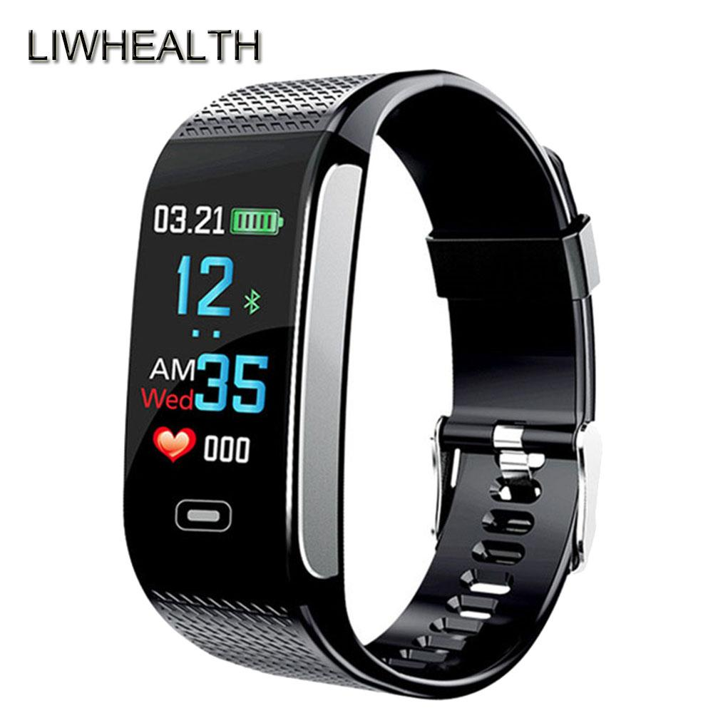 3d39cb3cedd New Color Smart Watch Heart Rate  Men Women Smartwatch Clock Activity  Tracker For IOS Honor Sony PK Fit 3 Smartwatches For Kids Swap Smart Watch  From ...