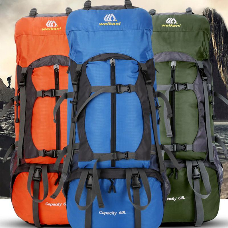 60L Outdoor Camping Hiking Backpack With RainCover Professional Mountaineering  Travel Bag Breathable Trekking Rucksack Backpack With Wheels Dakine Backpack  ... 19cb73140c