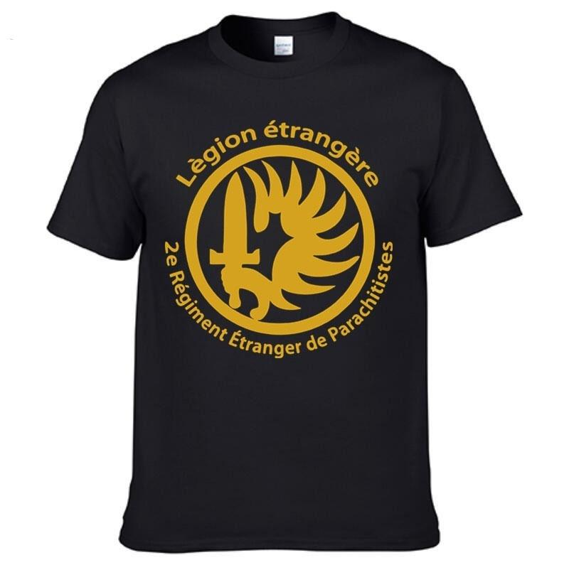 French Foreign Legion Special Forces War Army T High Quality Tops
