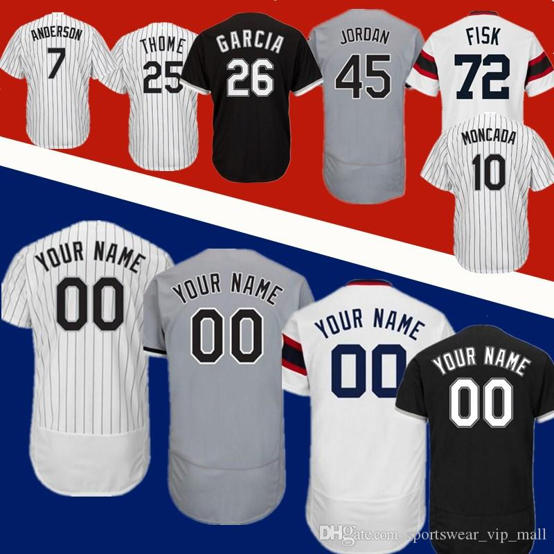 lowest price 17a20 efb1c Men Women Youth Yoan Moncada Avisail Garcia Todd Frazier Jim Thome 45  Michael J Frank Thomas Tim Anderson Stitched Baseball Jerseys