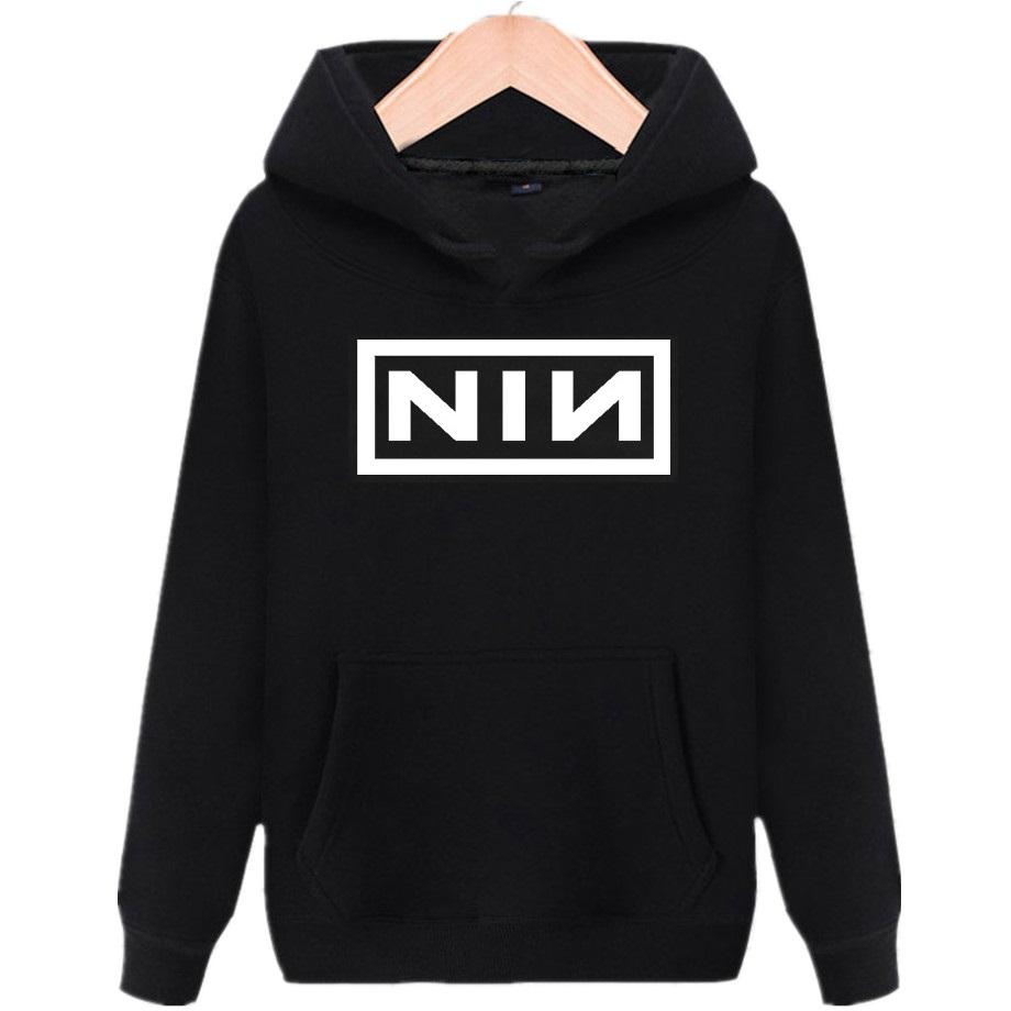 2018 Nine Inch Nails Rock Band Fleece Warm Hoodie Nin Men Women ...
