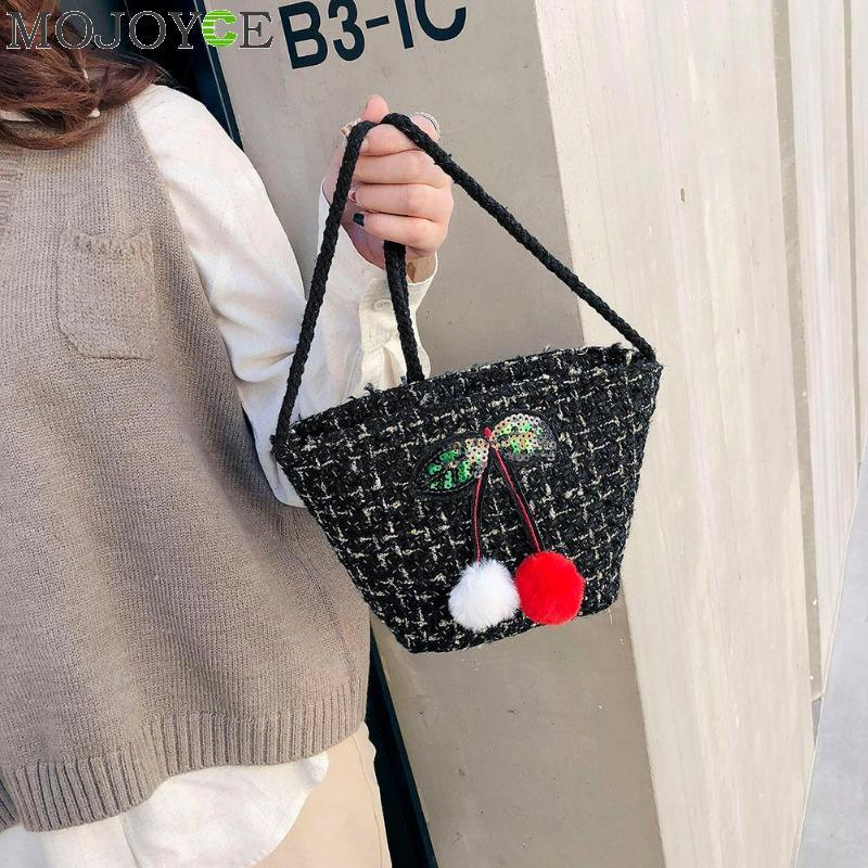 0c3552ea6be1 Female Woolen Sling Shoulder Messenger Bag Cute Small Girls Phone Bag For  Women Purse Casual Female Crossbody Bags Bolsa Mujer Canada 2019 From  Koolless
