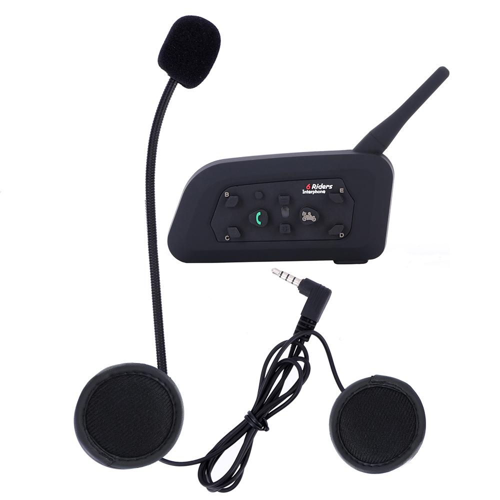 2feb56166ba 2017 NEW V6 Pro 1200M Multi BT Interphone Wireless Motorcycle Helmet  Bluetooth Headset Intercom For 6 Rider Motor Helmet Motor Helmet Price From  Tonethiny, ...