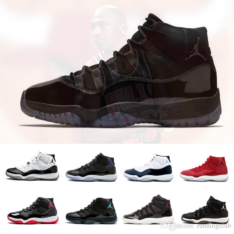 online store aa872 876d6 11 Men 11s Basketball Shoes New Concord 45 Platinum Tint Space Jam Gym Red  Win Like 96 XI Designer Sneakers Men Sport Shoes Jordans Sneakers Sneakers  Sale ...