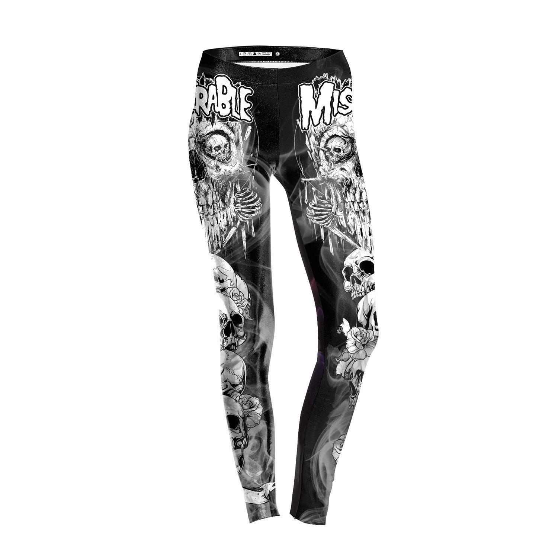 363bff7e42 New 2018 Women Leggings Halloween Ghost Leggin 3D Printed Skeleton Fashion  Leggings Fitness High Elasticity Pants Trousers H028