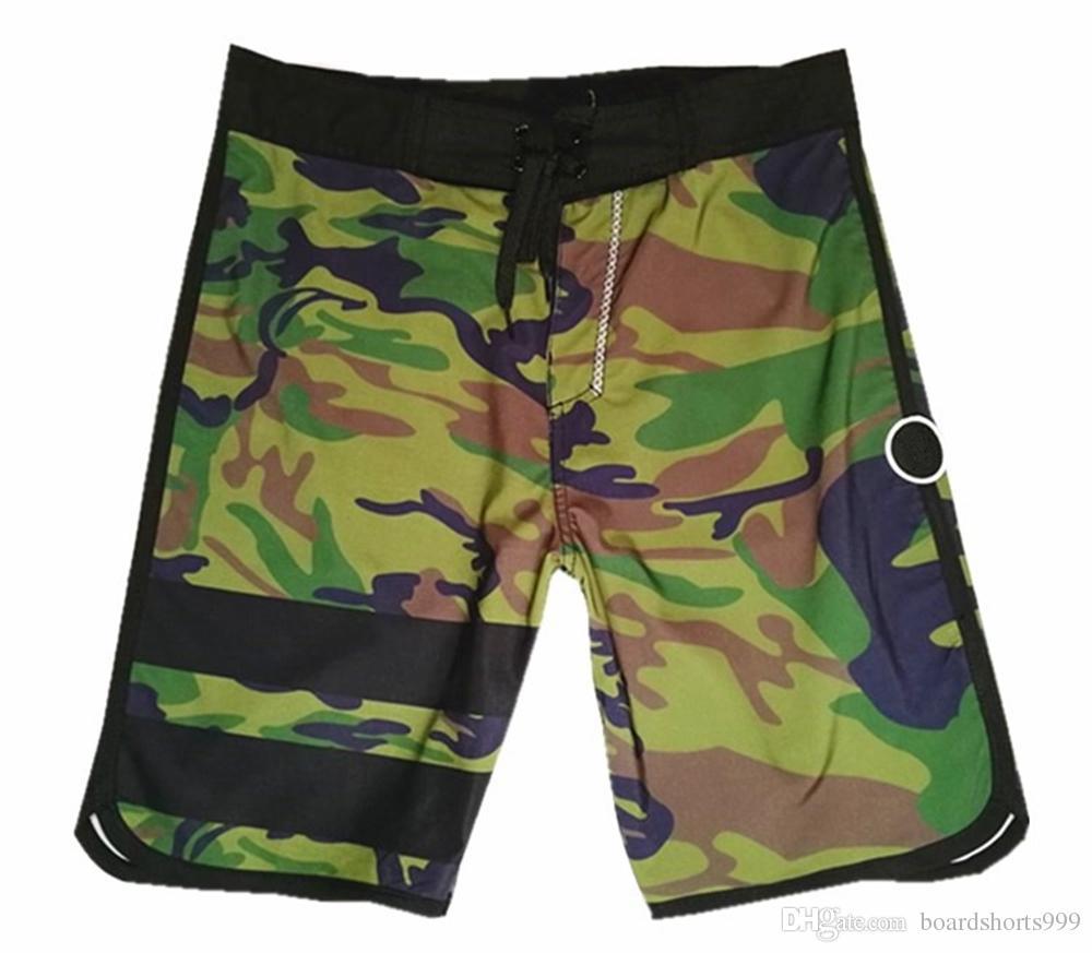00663f3b3b196 NEW 4Way Stretch Camouflage Boardshorts Mens Spandex Beachshorts Quick-dry  Swim Trunks Fashion Beach Pants Surf Shorts Bermuda Shorts 30-38