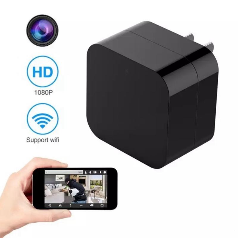 WIFI EU US Charger Plug Camera HD 1080P wall Socket IP Camera Portable USB Charger AC Adapter IP Camera home security surveillance DVR