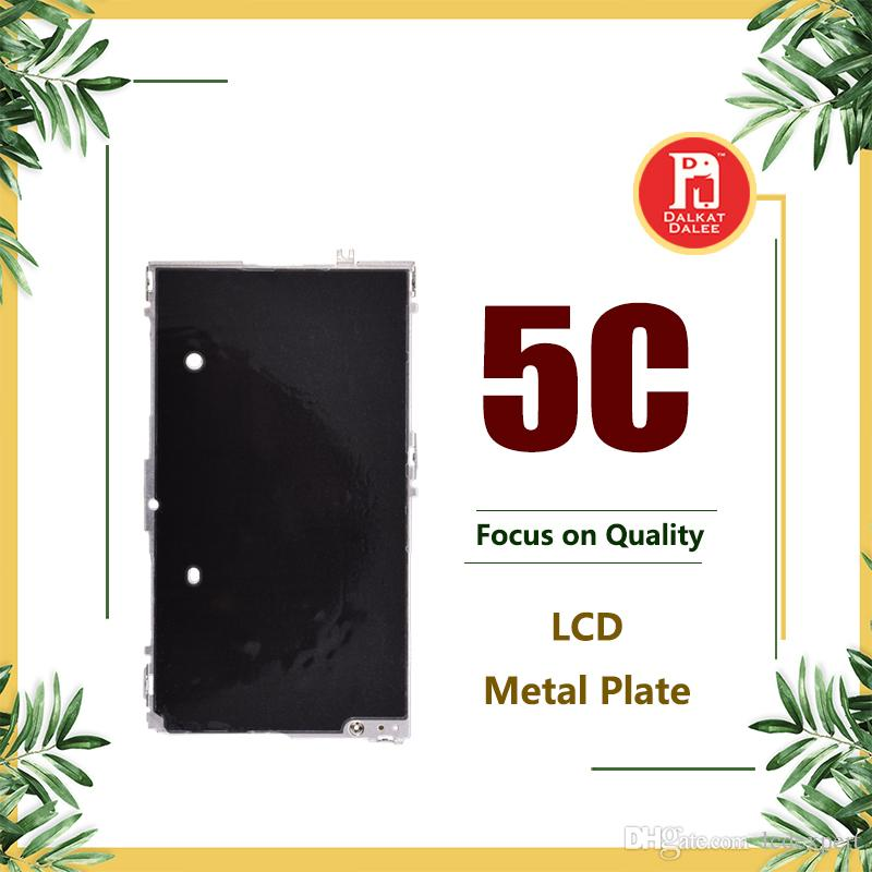 Bezel For iPhone 5C LCD Digitizer Metal Back Plate Shield LCD Display Metal Cover Spare Parts