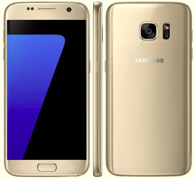 1f567707516 Original Samsung Galaxy S7 G930A G930T G930P G930V Octa Core 4GB 32GB 5.1  Inch Android 6.0 Refurbished Unlocked Phones Cheap Used Phones Good Mobile  Phones ...
