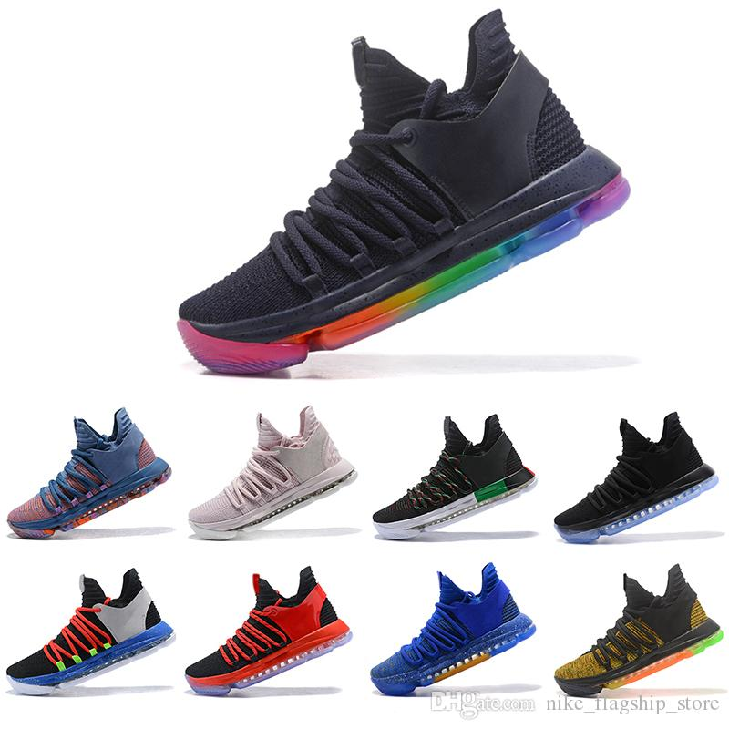 9f81019602c 2018 What The KD 10 Mens Basketball Shoes All Star Aunt Pearl Be ...