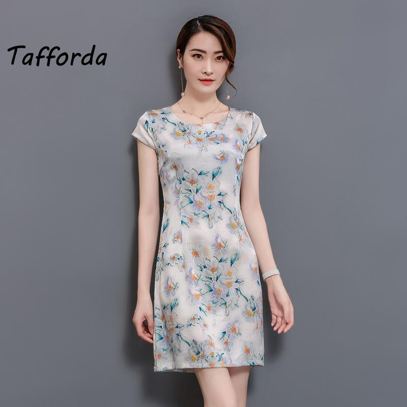 2018 Tafforda 2018 New Spring And Summer Chinese Style Women Silk