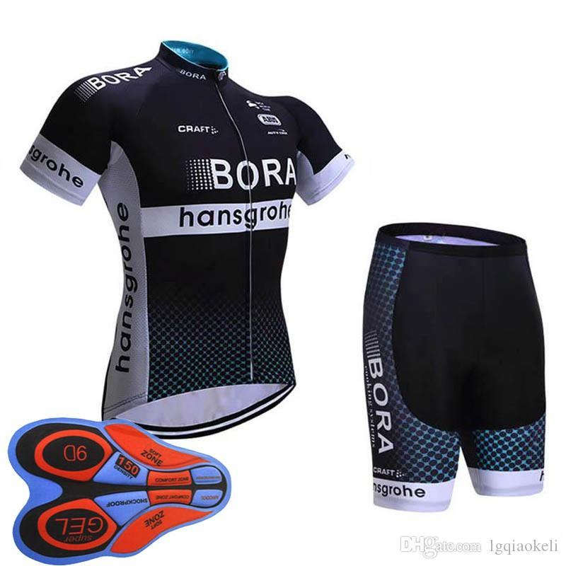BORA 2018 Mens Cycling Jersey Sets Pro Team MTB Cycling Pads Racing Bicycle  Clothing Breathable Bike Jerseys Maillot Ropa Ciclismo F2509 Bora Cycling  Jersey ... 7a95c4034