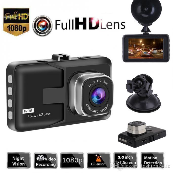 "2.4/"" HD 1080P LCD Car DVR Dash Camera Night Vision Cam Driving Recorder USA Ship"