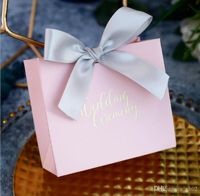 Chocolates Cookie Candy Box Wedding Favors Decor Diy Gift Bag Party