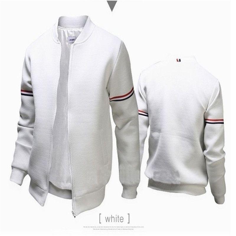 38d507ec Windbreaker Men's Jacket Casual Style Slim Stand Collar Polyester ...