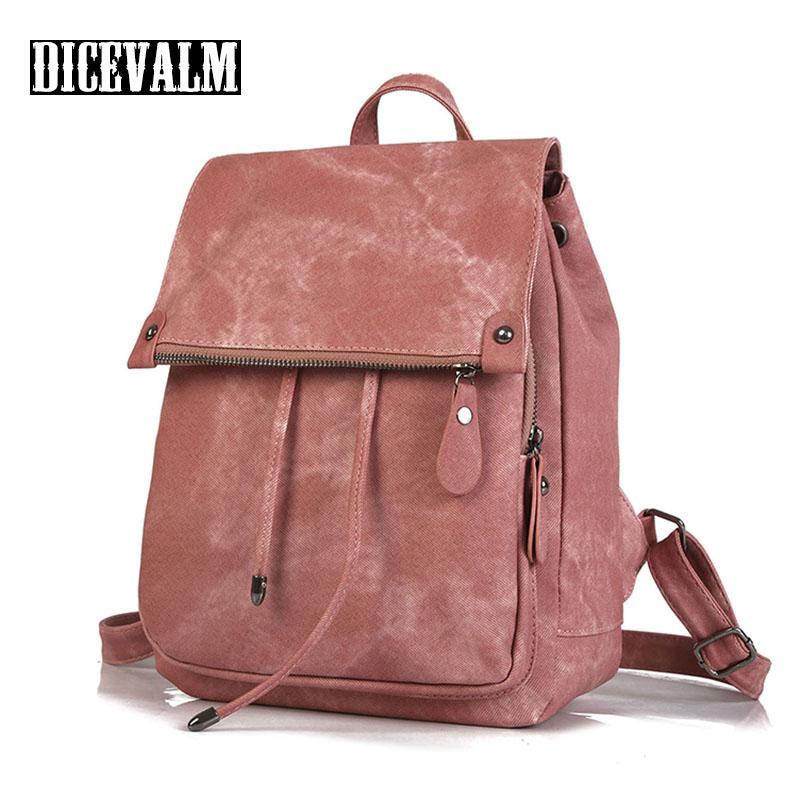 4d9801f1fcc92 Preppy Style Women S Backpack Female Leather Shoulder Bag Fashion Solid  Ladies School Bags For Teenage Girls Satchel Daypack Boys Backpacks  Hydration ...