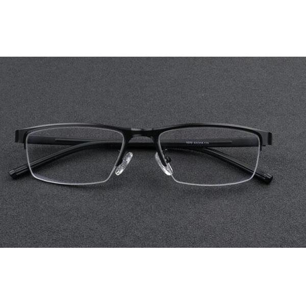 c1b82619fb Half Rim Reading Glasses Photochromic Eyeglasses Color Change Lens Eyewear  Fashion Black Metal Frame Women Men Eye Reader +1.0~+3.5 Foster Grant  Folding ...