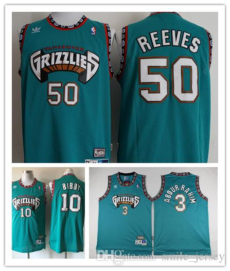 new zealand grizzlies 3 shareef abdurrahim black throwback stitched nba  jersey f4186 7ff34 98de5f919