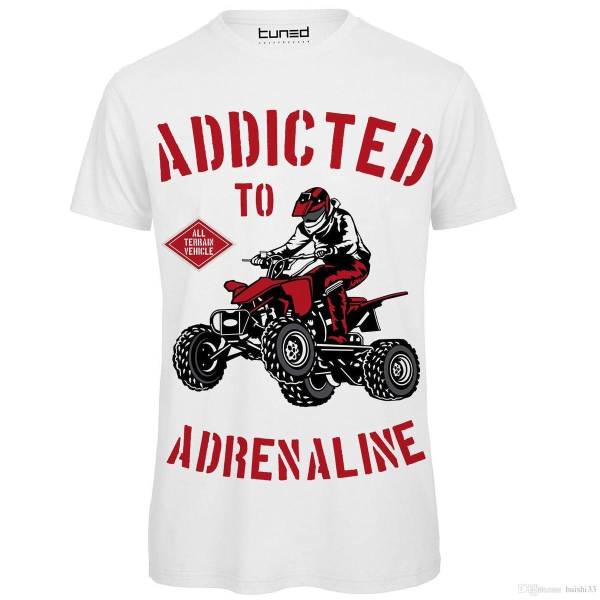 Compre T Shirt Divertente Uomo Maglia Con Stampa Motori Viciado Em  Adrenalina Ajustado Impresso T Shirt Dos Homens Roupas Top Tee De  Lijian033 f5464daedc2