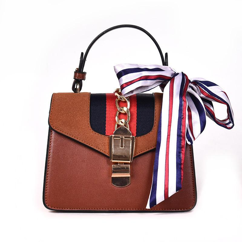 Woman Package Silk Portable Small Square Classic Bag 2018 New ... 0e56d52065f9a