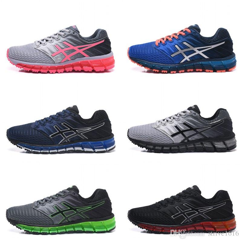 meet 95afe 6c4b3 Best Asics Gel-Quantum 360 II Men Shoes Running Shoes Blue Red High Quality  Cheap Training Fashion Online Sport Sneakers Eur 36-45