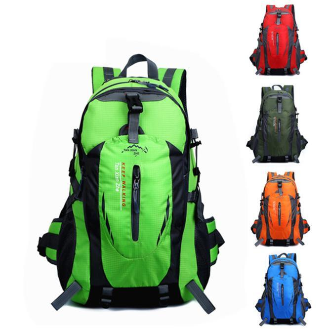 e8584b3d1f0 2018 Hot 40L Outdoor Hiking Camping Waterproof Nylon Travel Luggage  Rucksack Backpack Bag For Dropshipping Army Backpack Water Backpack From  Bowdown, ...
