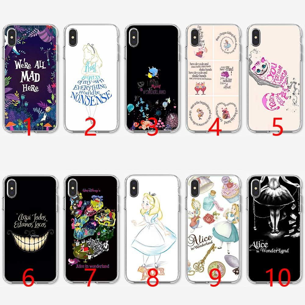 coque iphone xr alice