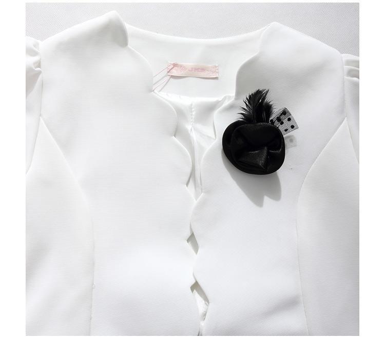 F ~ 4XL Mujeres de Talla grande Elegante Delgado Corsage Blazer Coat Casual Chaqueta Mujer Traje de manga larga para mujer de negocios Blazer Ropa de trabajo
