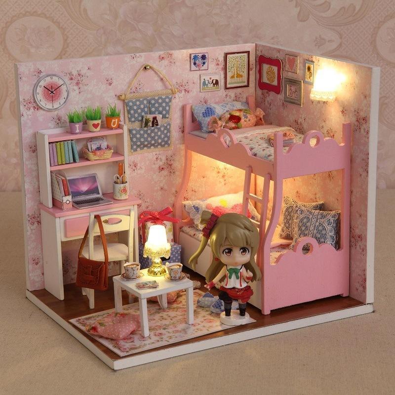 Handmade Craft Miniature Doll House Diy Furniture