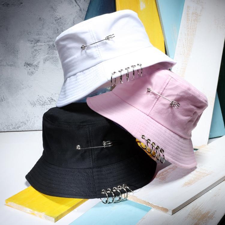 2019 Women Ring Bucket Hats Men S Hip Hop Bucket Caps Fisherman Hat Gorro  Pescador From Huiqi02 1e38193bdc5