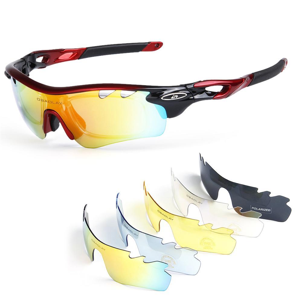 fd97d49ea5c Polarized Cycling Sunglasses Bike Bicycle UV400 Goggles Sports ...