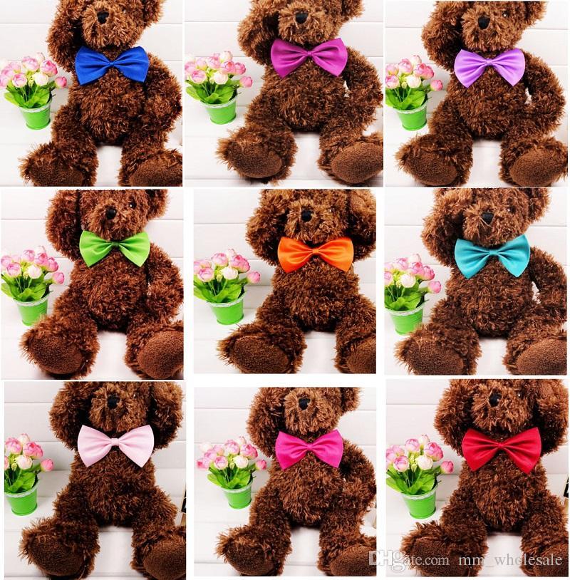 도매 / 애완 동물 머리 장식 개 목 개 넥타이 개 나비 넥타이 고양이 넥타이 애완 용품 미용 용품 여러 가지 빛깔의