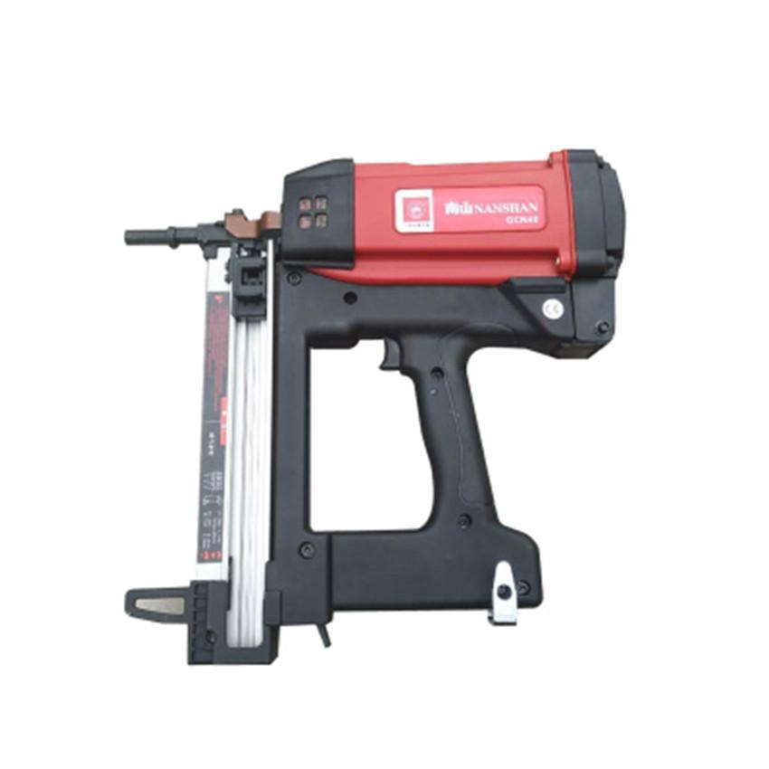 Nova Alta Qualidade GCN40 Prego A Gás De Gás Automático Carpintaria Portas  Janela Fio Fio Prego Dispositivo Elétrica Prego Arma DV7 4V, 2 2AH