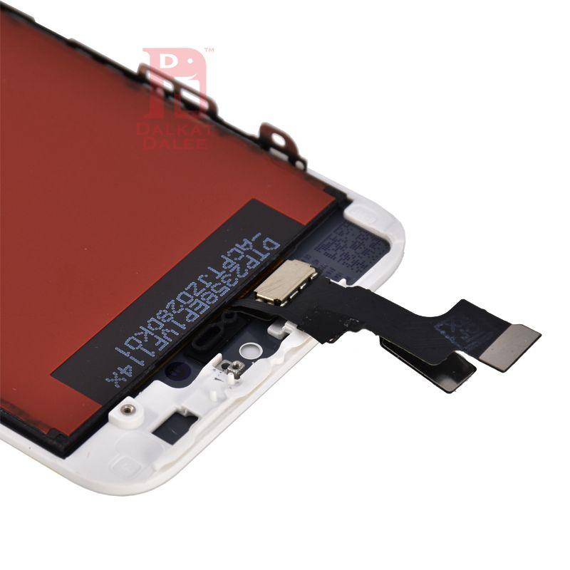 Conjunto de digitalizador de tela de toque de display lcd com substituição de reparo de quadro para iphone 5 para iphone 5s 5se para iphone 5c