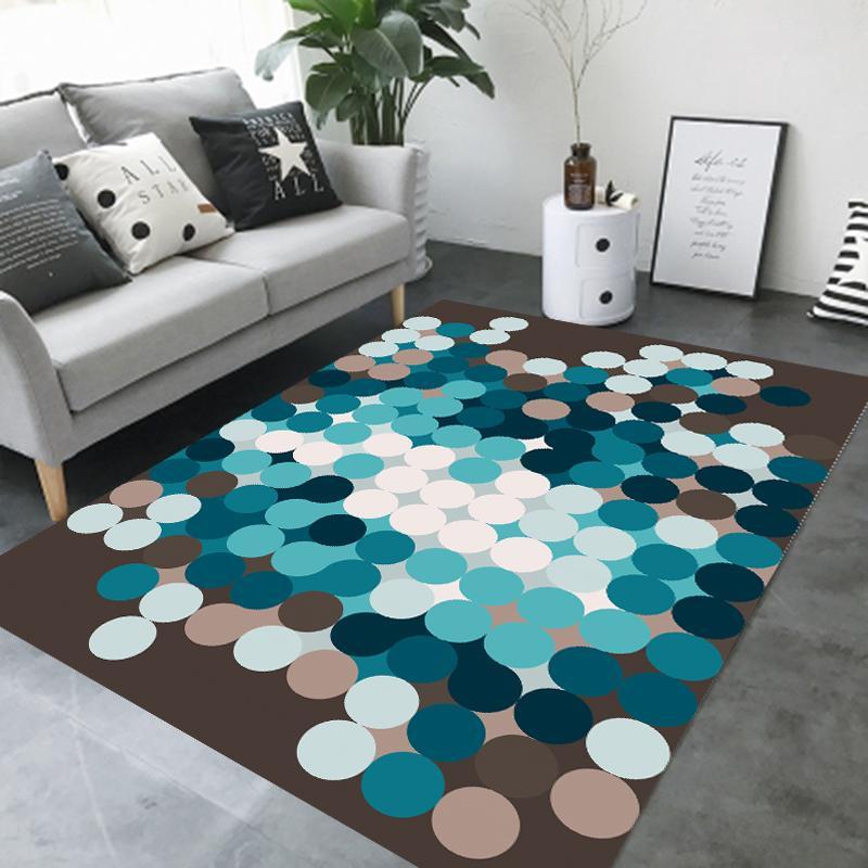 Grosshandel Nordischen Stil Striped Grosse Grosse Teppich Schlafzimmer