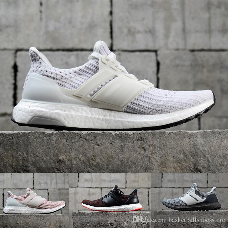 32fa7aa717e1f 2018 Ultra Running Shoes 4.0 Triple White Black Grey Mens Women UB 3.0 Blue  Oreo Man Casual Shoes Sports Sneakers 36 45 Running Trainers Men Sports  Shoes ...