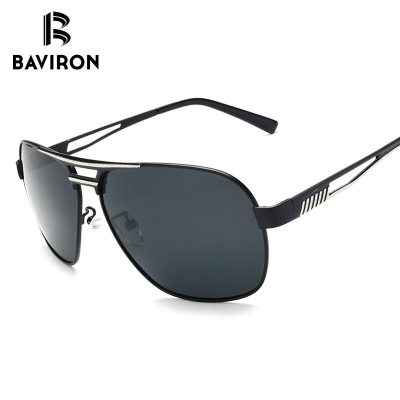 b45c639fa4 BAVIRON Polarized Pilot Sunglasses Men Brand Designer Colorful Coating  Mirrored Male Eyewear Pilot Glasses For Driving Oculos Womens Sunglasses  Sunglasses ...