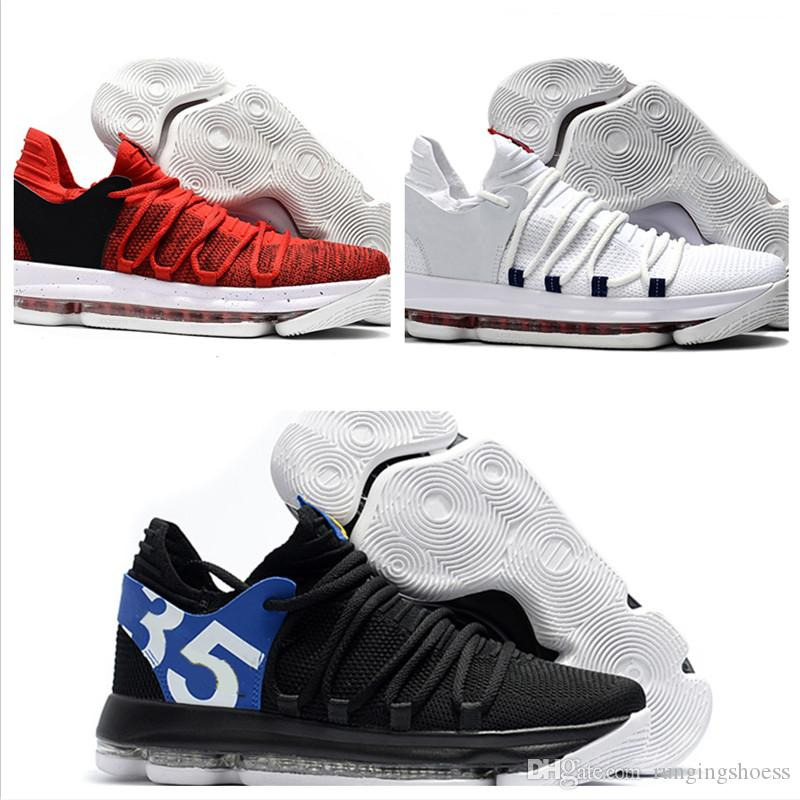 New Color WITH BOX 2018 Zoom KD 10 Kevin Durant Blinders PE Mens Men Women  Basketball Running Designer Luxury Brand Shoes Trainers Sneakers UK 2019  From ... 21896b9ee