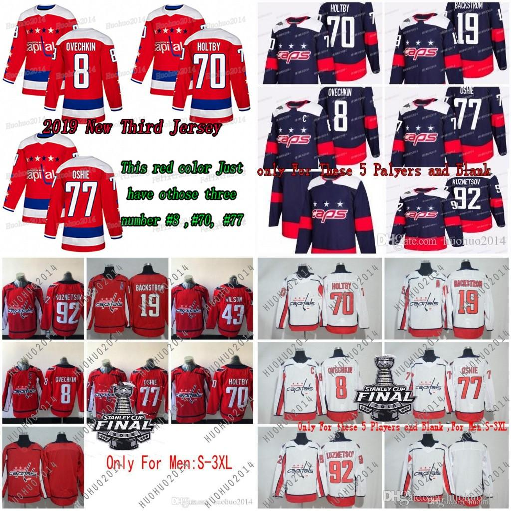 a3d811d44ab 2019 New Third Washington Capitals Alex Ovechkin T.J. Oshi Braden Holtby  Evgeny Kuznetsov Nicklas Backstrom Tom Wilson Hockey Jersey UK 2019 From  Huohuo2014 ...