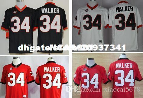 bef925b3823 2019 Cheap Men  34 Herschel Walker Georgia Bulldogs Top High Quality Red  Black White College Jersey Or Custom Any Name Or Number Jersey From  Xiaocai5678